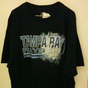 TAMPA BAY RAYS MEN'S 2XL BLUE TEE